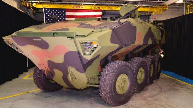 BAE Systems lanza su primer Vehículo de Combate Anfibio 1 1 al US Marine Corps 640 001