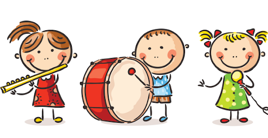 music clipart children clip preschool fun preschoolinspirations english working
