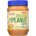Woodstock Organic Easy Spread Peanut Butter - Smooth - 18 Oz.