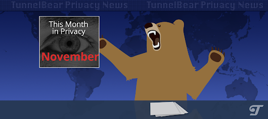 This Month in Online Privacy - November 2016