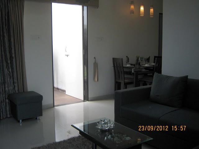 Living - Sample Flat - Pristine City, 20 Acre Township of 1 BHK & 2 BHK Flats at Bakori - Wagholi, Pune 412 207
