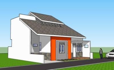 model teras rumah tingkat minimalis