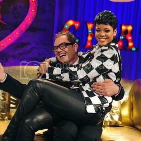 Rihanna performs 'What Now' & sits down for interview on 'Alan Carr: Chatty Man'...
