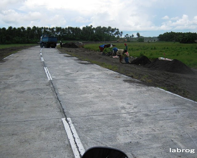 Road Widening of Bicol International Airport Access Road - July 2010