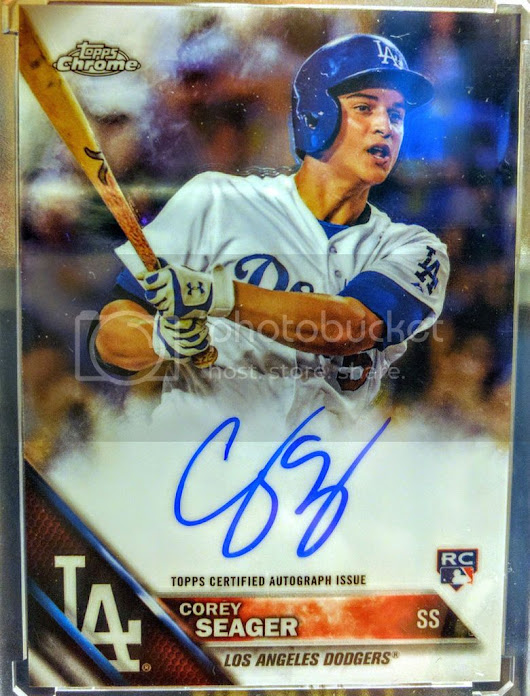 Seager Smooth- 2016 Topps Chrome
