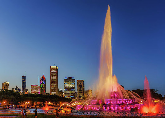 #chicagocares - Buckingham Fountain Rainbows by Scott Campbell