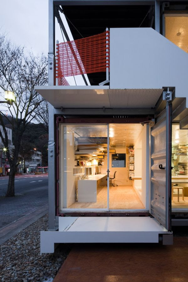 Shipping Container House By Daiken Met Architects Cate St Hill