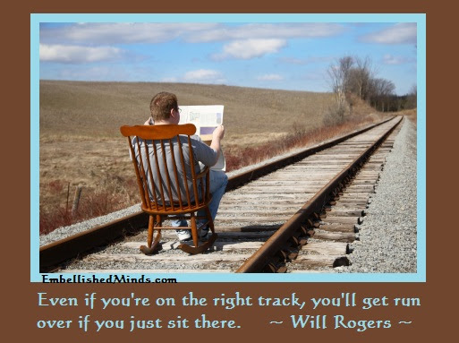 Motivation Quotes Will Rogers Quotes Youll Get Run Over