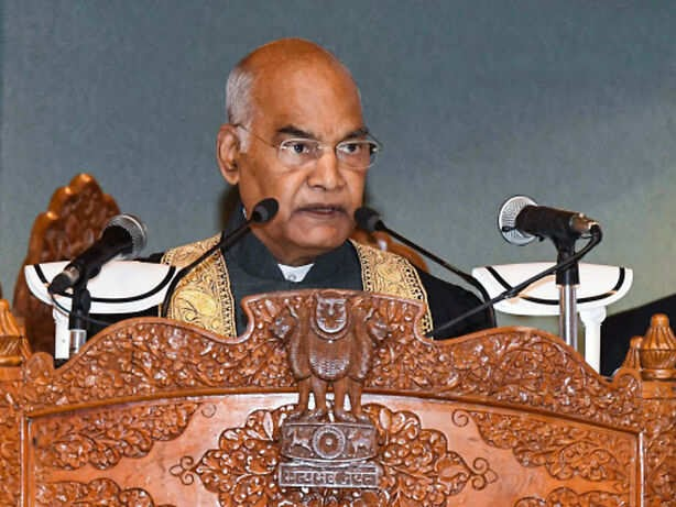 Kashmir bound to acquire its rightful place as India's crowning glory, says Kovind