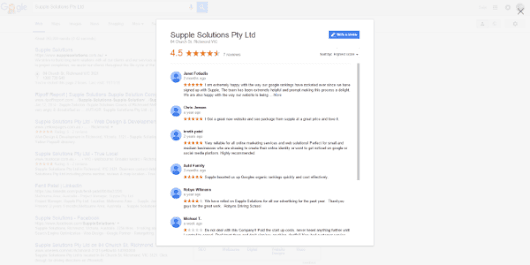 Google Business Review Direct Link Generator ~ Supple