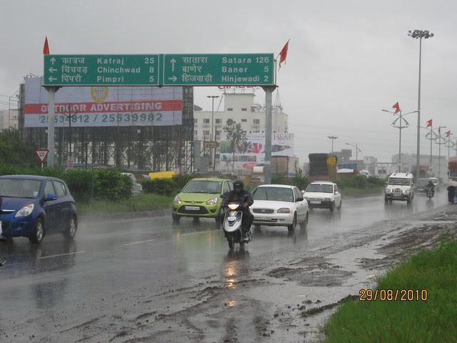 Mumbai Pune Expressway To Baner, at Wakad Pune