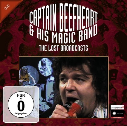 CAPTAIN BEEFHEART & THE MAGIC BAND – 'THE LOST BROADCASTS' Captain Beefheart was undoubtedly an eccentric genius, who was very much an acquired taste, and is sadly missed. 'Trout Mask Replica' is often quoted as an all-time classic album, at the same time as featuring in 'most unlistenable' album lists. I have to admit that it isn't an album that I find able to listen to in its entirety but do still find pleasure in listening to individual tracks when the mood takes me. Hearing tracks from it always reminds me of where I first heard the Captain, and many other wonderful musicians – John Peel's radio shows. I am so grateful that he had the courage and vision to play tracks that didn't conform to accepted station playlists; and that I found his shows! I am most definitely one who has a 'taste' for the output of Don Van Vliet, aka The Captain, and had the great pleasure of seeing him and The Magic Band playing live in Edinburgh back in the early 1970s on a couple of occasions in 'The Empire', now 'The Festival Theatre' The DVD that arrived features some rare footage of the band in a German TV studio in 1972. It is fair to say that it is unlikely to race to the top of any best-seller charts, but to a genuine fan it is pure gold and provides a wonderful glimpse into the past. The DVD offers an opportunity to appreciate the skills of Rockette Morton as he plays a bass solo (entitled 'Mascara Snake' in tribute to a previous band member), and the whole band during a couple of takes of the wonderful 'Click Clack' and 'I'm Going To Booglarize You Baby', all blended with some free-form jazz playing and lyrics that are recited more as poetry than mere song component parts. In general, the music played here is much more accessible than that contained on 'Trout Mask Replica'. I have always greatly appreciated the song 'Click Clack', being one of those that successfully conjures up images of riding on steam trains. Sadly, this is something that young people today may never fully a