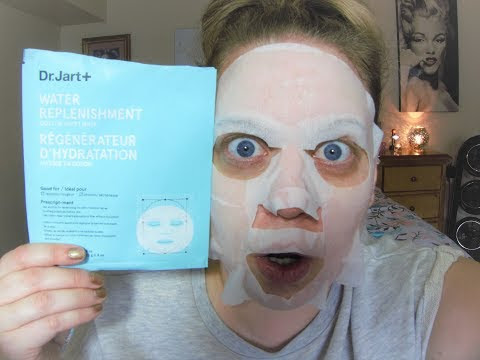 DR. JART+ Water Replenishment Facial Mask Review