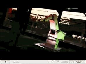 Cách tạo video cho cánh tay robot
