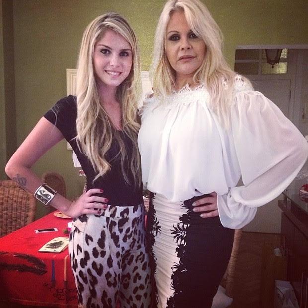 Bárbara Evans e Monique Evans (Foto: Reprodução do Instagram)