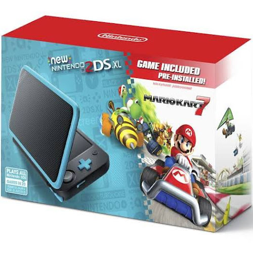 Nintendo 2ds Xl System With Pre Installed Mario Kart 7 Game