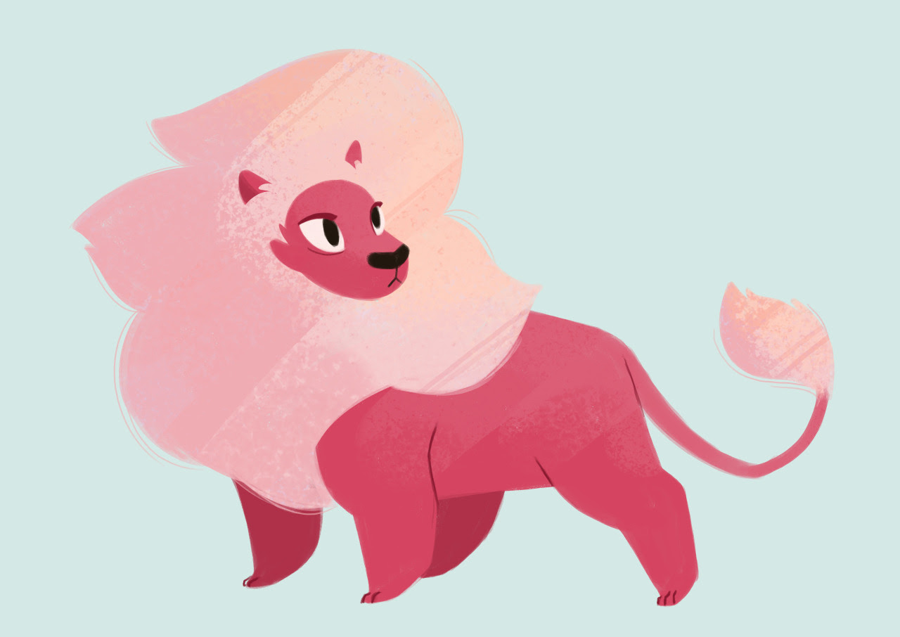 477: Lion My friends finally got me watching Steven Universe. I am behind the times, but oh my gosh I'm loving that show.