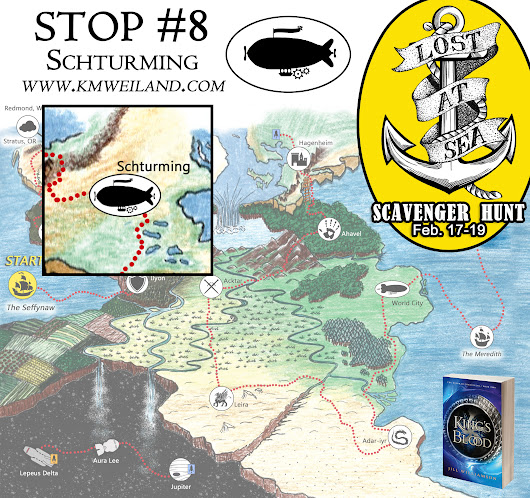 Lost at Sea Scavenger Hunt: Stop #8 - Helping Writers Become Authors