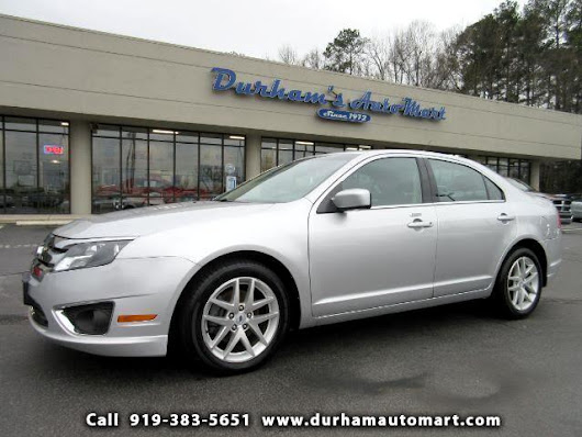 Used 2012 Ford Fusion SEL for Sale in Durham NC 27705 Durham's Auto Mart