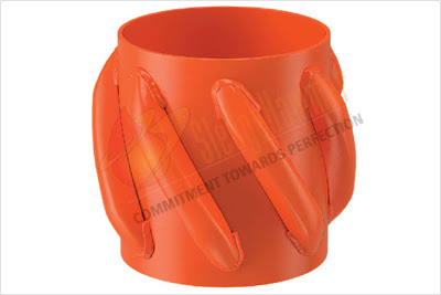 Slip On Heavy Duty Welded Positive Spirolizer, Solid Heavy duty Spirolizer, Solid Rigid Centralizer