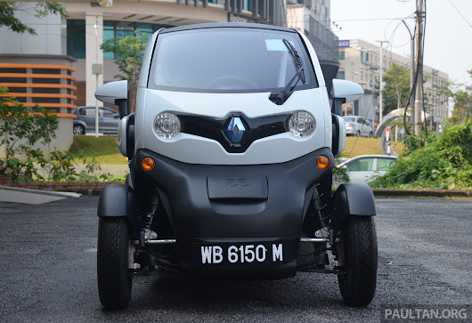 Renault Twizy EV launched in Malaysia - from RM72k