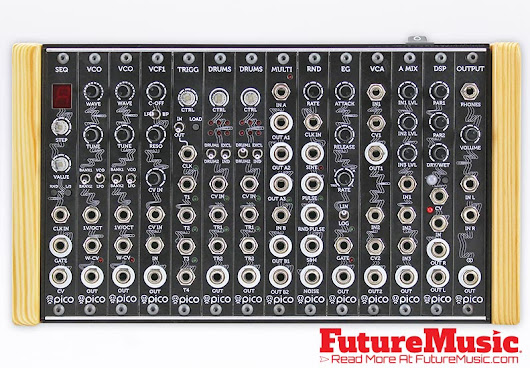 Erica Synths Debuts Erica Pico System – Micro Modular Synthesizer | FutureMusic the latest news on future music technology DJ gear producing dance music edm and everything electronic
