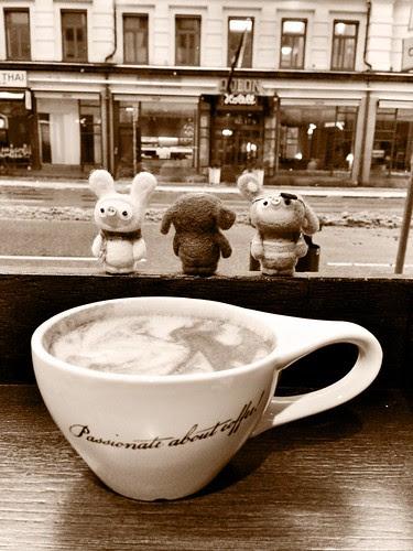 soy latte morning
