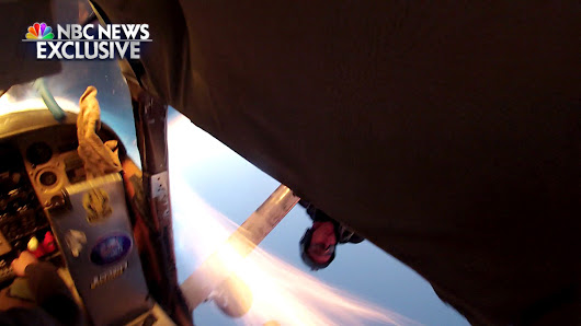 Exclusive images show skydivers' terrifying collision and chaotic plunge