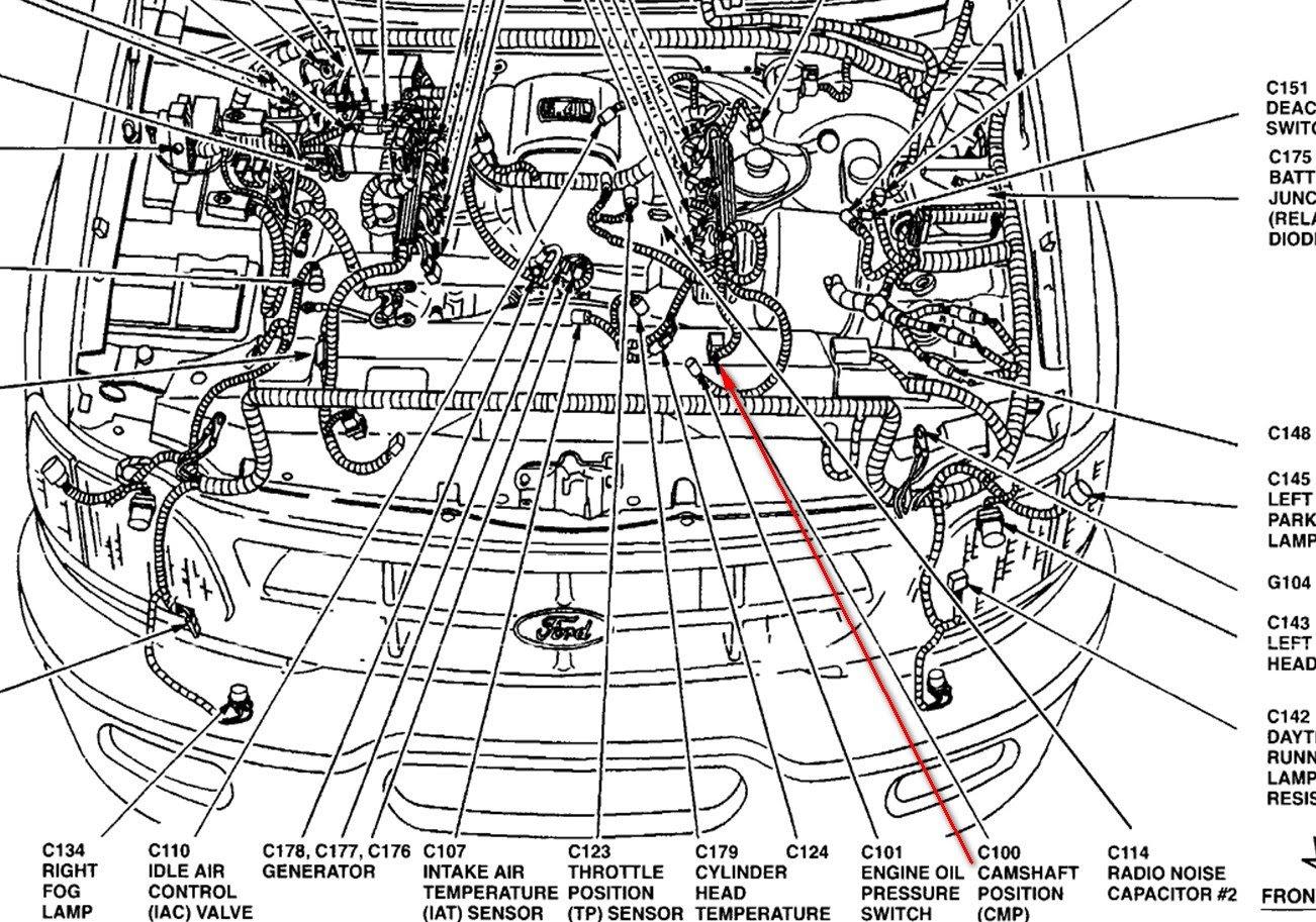 1996 ford f 150 engine diagram  fuse wiring