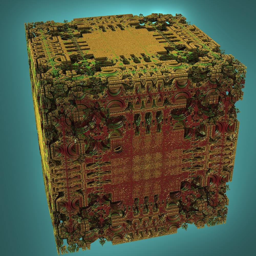 Mandelbox by Jesse at Fractal Forums