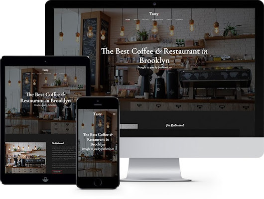 Tasty Free Bootstrap HTML5 Template for Restaurant Websites
