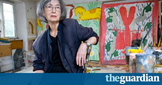 Rose Wylie: 'My mother thought women should have an escape route' | Art and design | The Guardian