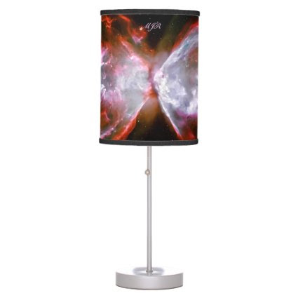 Monogram, Butterfly Nebula in Scorpius space image Desk Lamps