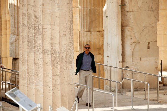 Barack Obama... (PHOTO KEVIN LAMARQUE, REUTERS)
