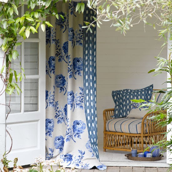 Relaxed garden summer house | Garden decorating ideas | Image | Housetohome.co.uk