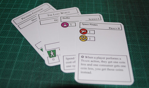 Some cards from Codename:Vacuum
