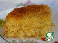 Кунафа: три начинки-три разных десерта ингредиенты