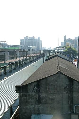 豐原站的倉庫