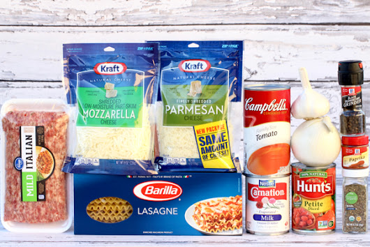 One Pot Lasagna Soup Recipe! {Dutch Oven Soup} - The Frugal Girls