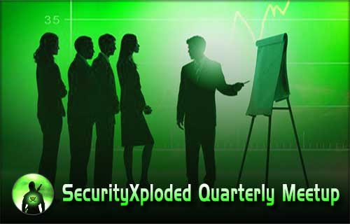 SecurityTrainings – SecurityXploded 5th Quarterly Meetup – 10th October 2015