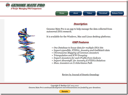 Another attempt with Genome Mate Pro « Louis Kessler's Behold Blog