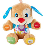 Fisher-Price - Laugh & Learn Smart Stages Puppy Plush Toy - Brown