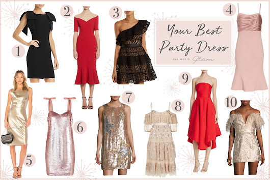 The Best Party Dresses For NYE - Gal Meets Glam