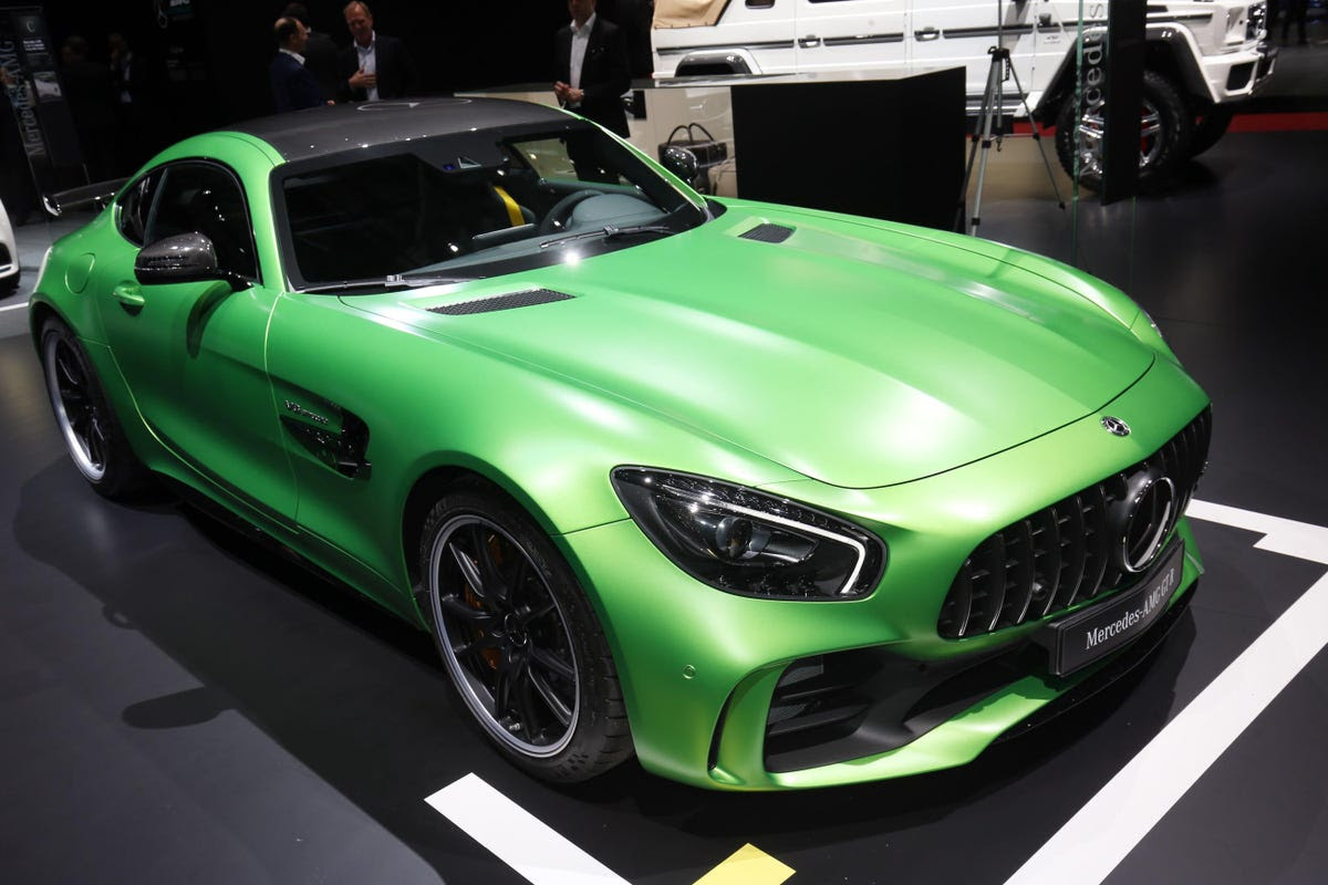 ... The track-bred AMG GT-R, and ...