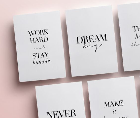 Planner Quotes or Printable Dashboards | Planner Accessories, 14 ...