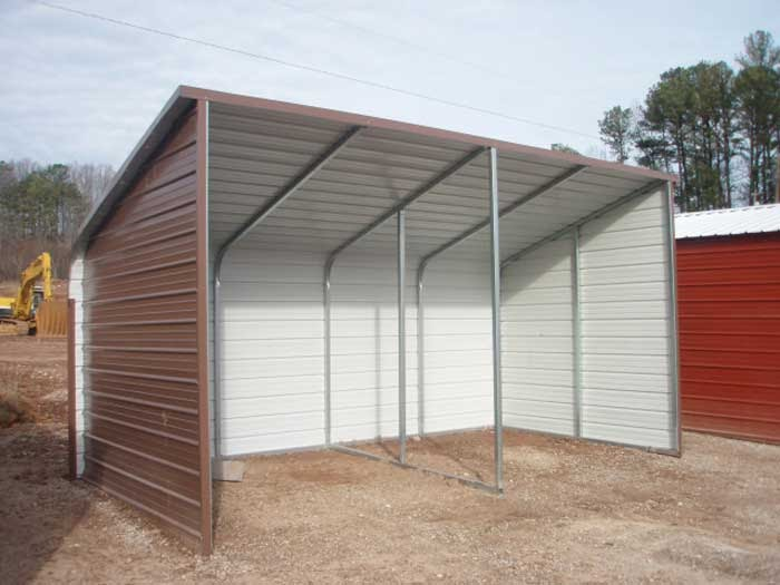Diy Sheds And Carports : How to build a metal loafing shed sanglam