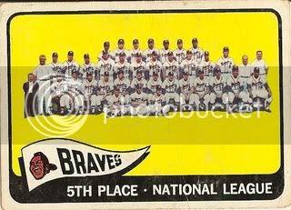 #426 Milwaukee Braves Team