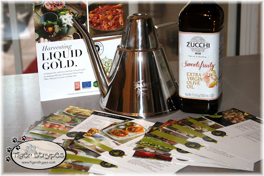 Flavor Your Life with Zucchi #OliveOil #TigerStrypesBlog