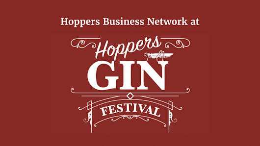 Invite to Hoppers Business Network at Gin Fest | Blue Wren
