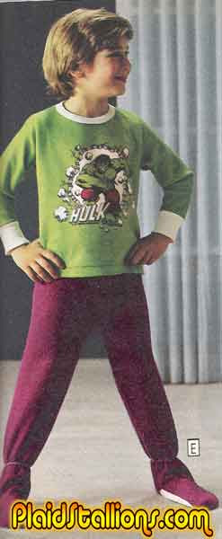 Hulk Pajamas